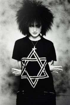 Siouxsie of Siouxsie and the Banshees. I love her