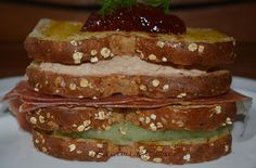 La cocina de Catina: Club sándwich de foie gras