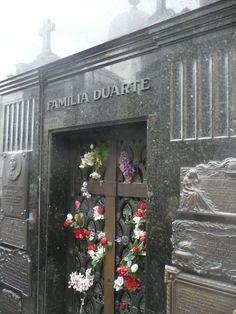 Cementerio de la Recoleta: Eva Duarte