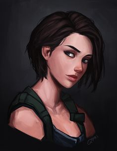 Jill Valentine Resident Evil 3 Remake By Frankalcantara On Resident Evil 3 Remake On The Way. Tyrant Resident Evil, Resident Evil Girl, Resident Evil 3 Remake, Resident Evil Anime, Digital Art Girl, Digital Portrait, Female Character Design, Character Art, Art And Illustration