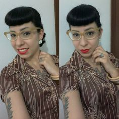 #pinup #pinupgirl #brazilianpinup #pinupjoinville #cherryann #vintagestile #vintagegirl #50slife #50sstile