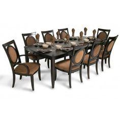 boomerang 4 piece bar stool & bench set | dining room sets