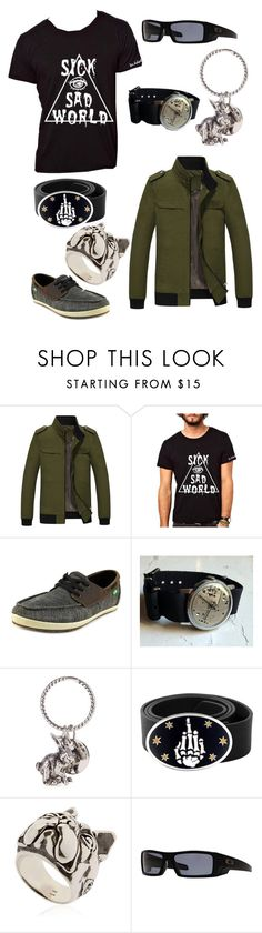 """guys"" by leia04 ❤ liked on Polyvore featuring sanuk, Paul Smith, King Baby Studio, Manuel Bozzi, Oakley, men's fashion and menswear"