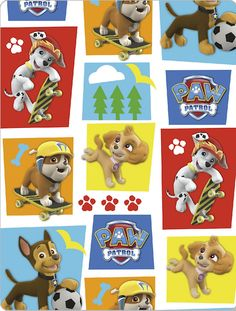 Paw Patrol by David Textiles - International Textiles New! This fabric is distributed exclusively in Canada by International Textiles Ltd.