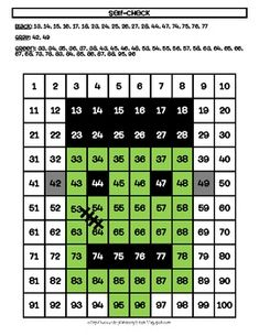 Students can construct their own spooky fun with this Frankenstein Hundreds Chart! Call out the numbers and colors for them or let them work on their own. As they color in the boxes, a hidden picture will be revealed! Perfect for number recognition!
