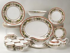 dinnerware sets christmas dinnerware - Christmas China Sets