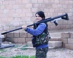 A Christian Girl Guns Down Five ISIS Terrorists Who Tried To Kidnap Her