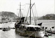Canhoneira Ibo (1911-1953). Esteve no Funchal, Madeira, de17 de Junho de 1918 a 23 de  Junho de 1918.
