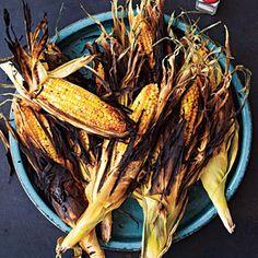 Grilled Corn on the Cob | MyRecipes.com #vegetable #myplate