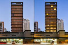 """Vitacon Itaim Building"" in Sao Paulo, Brasil by studio mk27 (Marcio Kogan)"