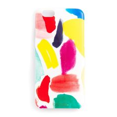 Brushstrokes iPhone Case, - - Nothing can make your iPhone more artistic than this cute brushstrokes iPhone case. It prevents your beloved gadget from scratches and damages. It is made from plastic, and suitable for iPhone 5, 5S and 6.
