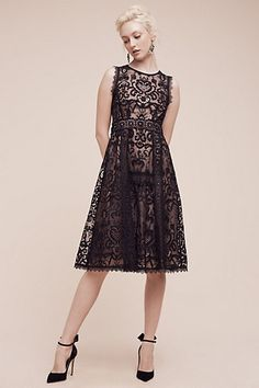 Avant Lace Dress #anthropologie