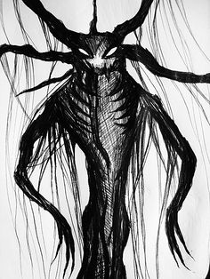 #monster #dark #macabre #horror