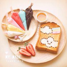 โอ้ยน่ารักมากๆ รวมไอเดียทำขนม ฉบับทำได้เองที่บ้าน จากเพจ songsweetsong | Yenta4 Webboard