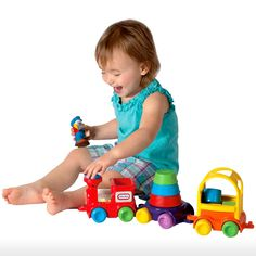 Little Tikes Toys > 6m-3y > Discover Sounds Sort & Stack Train | Shop Online. To view more Little Tikes toys, visit http://www.yellowgiraffe.in/little-tikes-toys #toys #children #kids #littletikes