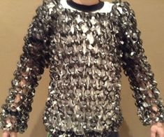 Papercraft Contest 2015 - Instructables Spray Paint Cans, Paper Chains, Full Body Suit, Chain Mail, Triangle Shape, How To Make Paper, New Set, Women, Fashion