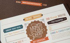 Monica Day Photo Identity and Branding Design by Braizen