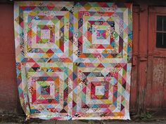 Stash Archive Value Quilt by Sew Katie Did, via Flickr