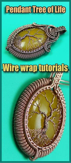 Wire wrapped tree of life tutorial PDF. Wire Wrapped jewelry tutorials. Wire Wrap tutorial Step by step. DIY Pendant Tree of Life. The book has 160 pages, more than 300 high-resolution photos. After studying the lessons you can independently make four pendants Tree of Life. I use copper wire in my tutorial. And this does not necessarily mean that you should use copper wire. Use any wire. Wire Wrapped Necklace, Wire Wrapped Pendant, Jewelry Crafts, Handmade Jewelry, Wire Weaving Tutorial, Jewelry Model, Minimalist Jewelry, Tree Of Life, Wire Wrapping