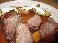 Steak vom Angus Rind