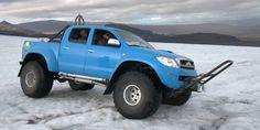 iceland vehicles | are two Toyota Hilux AT44. One of the cars was built in Iceland ...