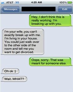 Hey, I'm Breaking Up With You