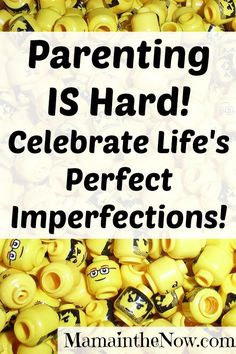Celebrate Life's Perfect Imperfections! Parenting IS hard, and just when you feel your are doing it all wrong - these things happen!   #parenting #motherhood #childhood