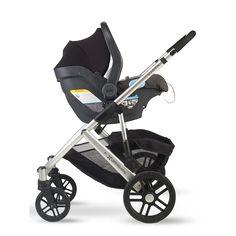 Uppa Baby Mesa Car Seat on the Uppa Baby Cruz Stroller--Cruz is ...