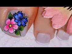 Manicure, Pedicure Nails, Toe Nails, Merry Christmas Gif, Cute Pedicures, Nail Brushes, Pretty Nails, Nail Designs, Lily