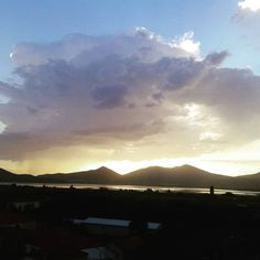 """""""#instlife #clouds #about_to_rain #sunset #Greece"""""""