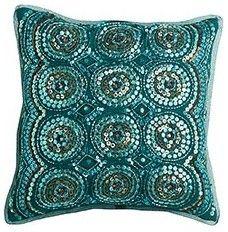 Sequin Circles Pillow