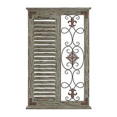 Wall Sculptures 166729: Deco 79 Wood Metal Wall Panel 26 By 40-Inch New -> BUY IT NOW ONLY: $69.94 on eBay!