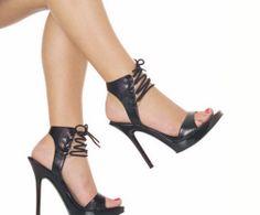 25 elegantes sandalias de tacón alto para mujeres   Moda 2014