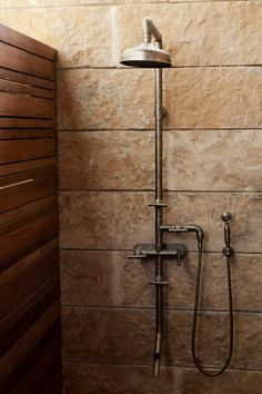 Rustic Showers industrial shower. i like it. would i live with it, though? | home