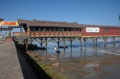 Balinese Room, Before it was destroyed by hurricane Ike - In its heyday, The… Galveston Texas, Galveston Island, Texas Hurricane, Hurricane History, Jim West, Texas History, Local History, Texas Texans, Eyes Of Texas