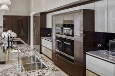 EXTREME High Gloss Luxury Kitchen Design.