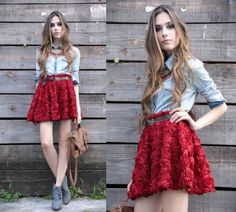 spring skirt 3 Spring is in the air: Short flowy skirts (26 photos)