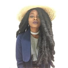 Embracing the Culture of Locs & Textured Hair Dreadlock Styles, Dreadlock Hairstyles, Cool Hairstyles, Black Hairstyles, Wedding Hairstyles, Free Form Locs, Pelo Natural, Natural Hair Inspiration, Hair Styles 2016