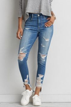 Images of american eagle jeans — photo 1