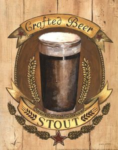 Crafted Beer by Gregory Gorham art print