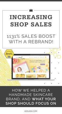 3 Ways To Increase Shopify Conversion: Handcrafted HoneyBee Click to read more, or save this pin to read later!