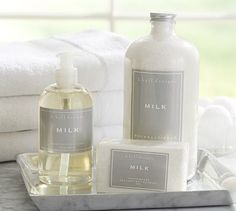 K. Hall Designs Soaps  - Milk #potterybarn (plus others)