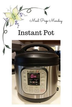 Meal Prep Monday in my Instant Pot for my Trim Healthy Mama Journey.
