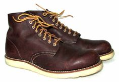 Red Wing Mens Boots 8196 Briar Oil Slick 11 D Heritage Work Crepe Sole ** #RedWing #WorkSafety