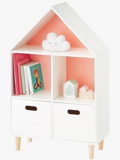 Little ones love to read and what better way to showcase their book collection than with a stylish children's bookcase?
