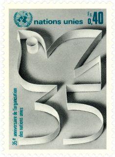 35 (vintage postage stamp)