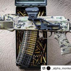 "127 Likes, 4 Comments - Steven - lvstipple@gmail.com (@lvstipple) on Instagram: ""Here is an @uspalm grip I did a while back all done up in multicam! Sick ak bro! #Repost…"""