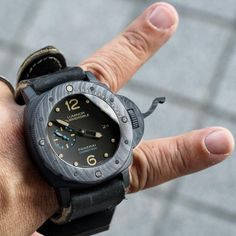 Cool Panerai Carbotech Sub Monster.