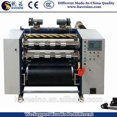 Hot selling Barcode Ribbon TTR slitting machine 1010mm with high speed
