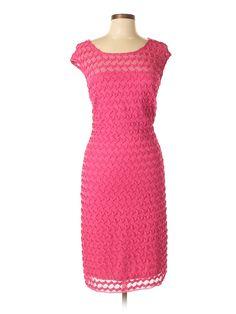 Ashley Stewart Casual Dress: Size 14.00 Pink Women's Dresses - $16.99